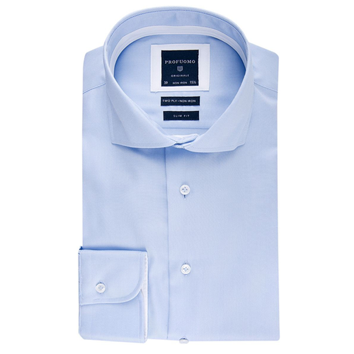 Profuomo shirts for 2 ply cotton shirts