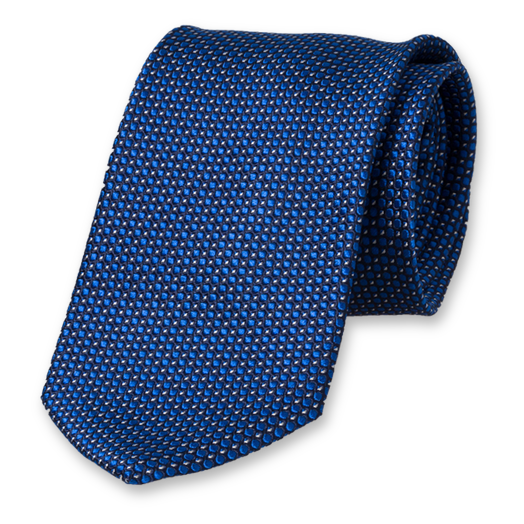 Profuomo Necktie Royal Blue Pattern (1)