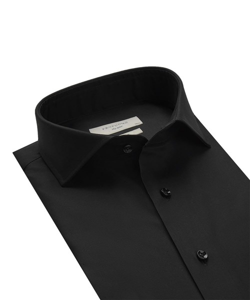 Profuomo Shirt - Black - Slim Fit - Royal Twill (2)